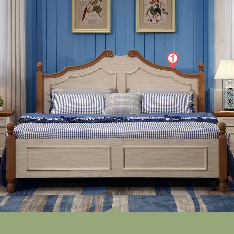 Giường ngủ hiện đại nhập khẩu GN021 kiểu C