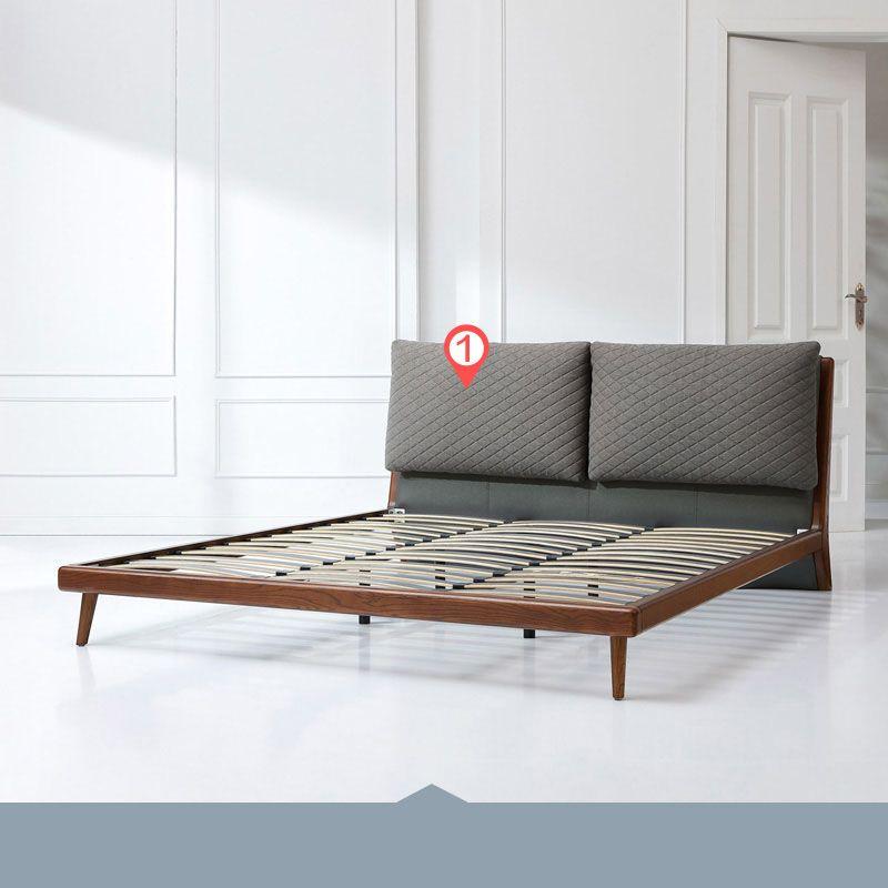 Giường ngủ hiện đại nhập khẩu GN021 kiểu D