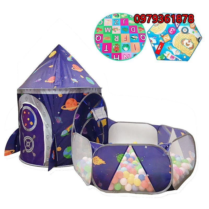 Lều vải có bể bóng vui chơi