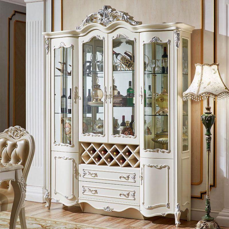 Tủ rượu tân cổ điển phong cách Châu Âu TR001