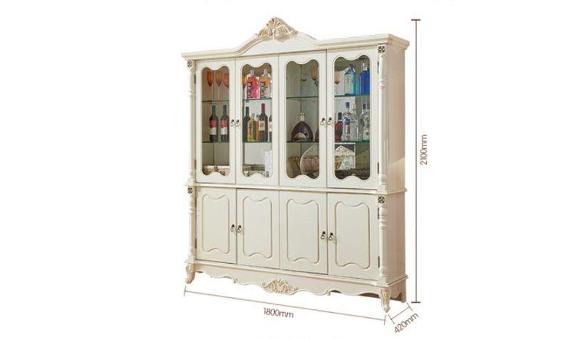 Tủ rượu tân cổ điển phong cách Châu Âu TR001 7