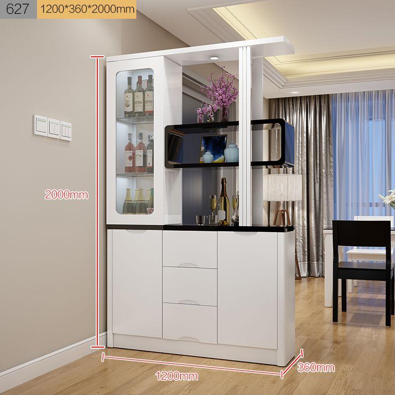 Kệ tủ rượu kiêm vách ngăn phòng khách, tủ giày hiện đại TR006 7