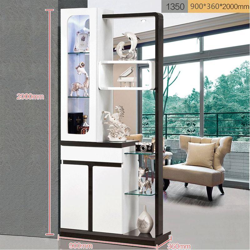 Kệ tủ rượu kiêm vách ngăn phòng khách, tủ giày hiện đại TR006 8