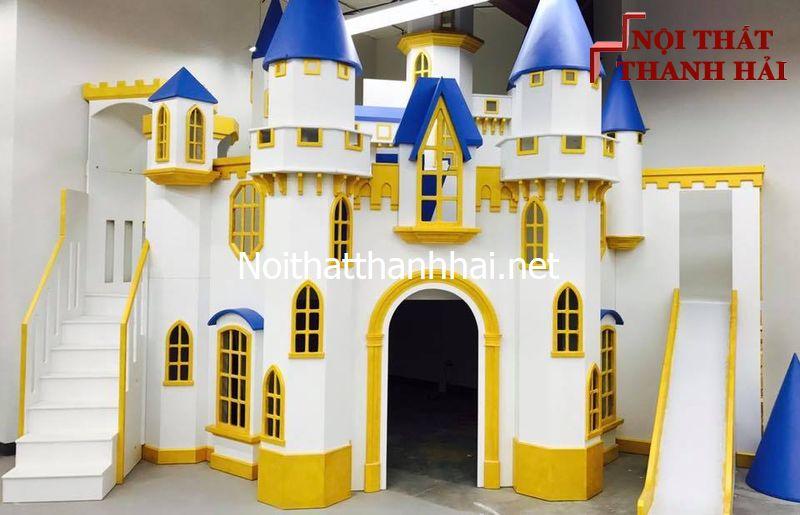 Giường tầng kiểu lâu đài cho bé, trẻ em 1
