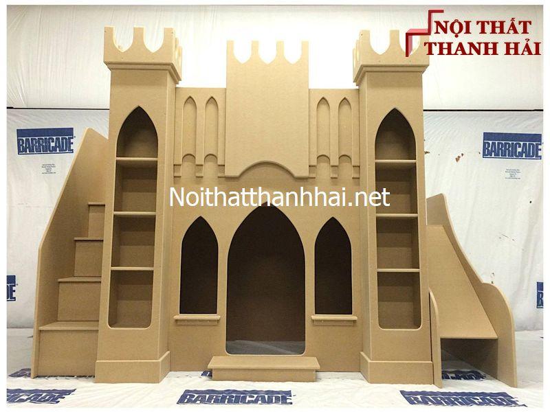Giường tầng kiểu lâu đài cho bé, trẻ em 9